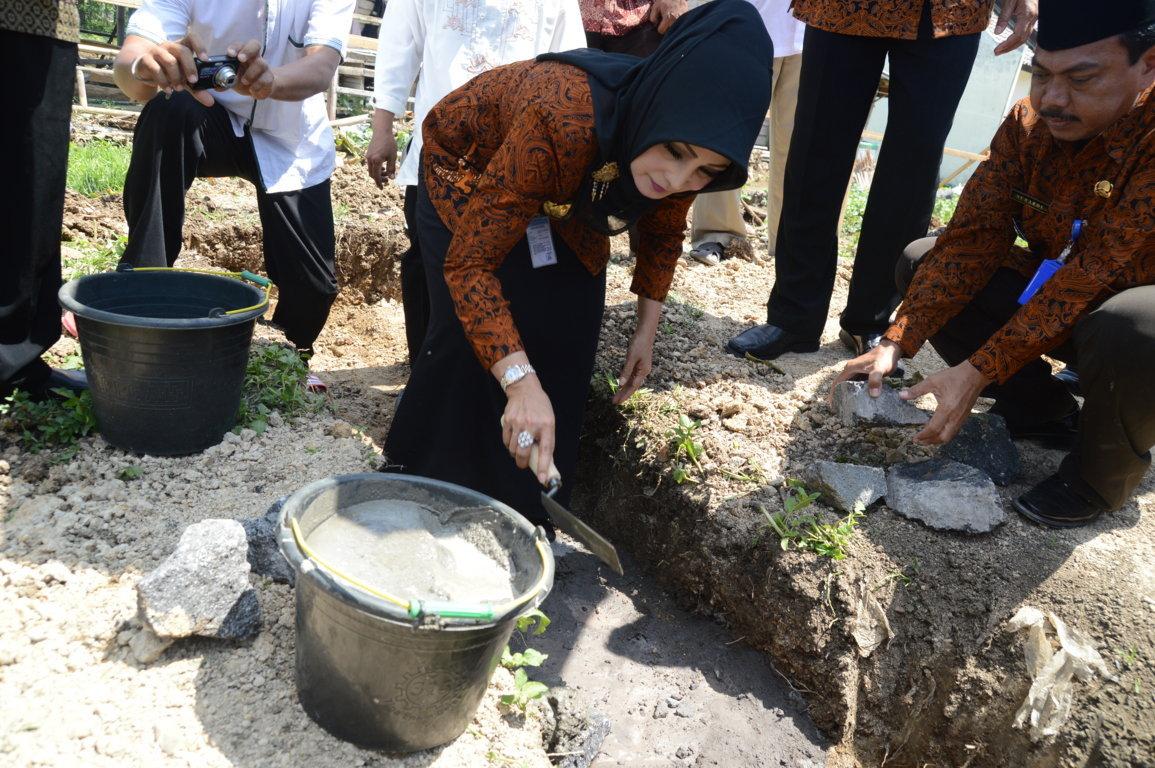 Peletakan Batu Pertama Masjid Al Maming 20 Gondangrejo