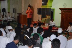 Pengajian dengan Ustadz Yusuf Mansyur di Masjid Agung Karanganyar
