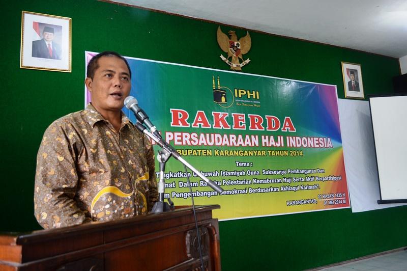 IPHI Kab. Karanganyar Adakan Rakerda Untuk Ke-3 Kalinya Masa Periode 2010-2015