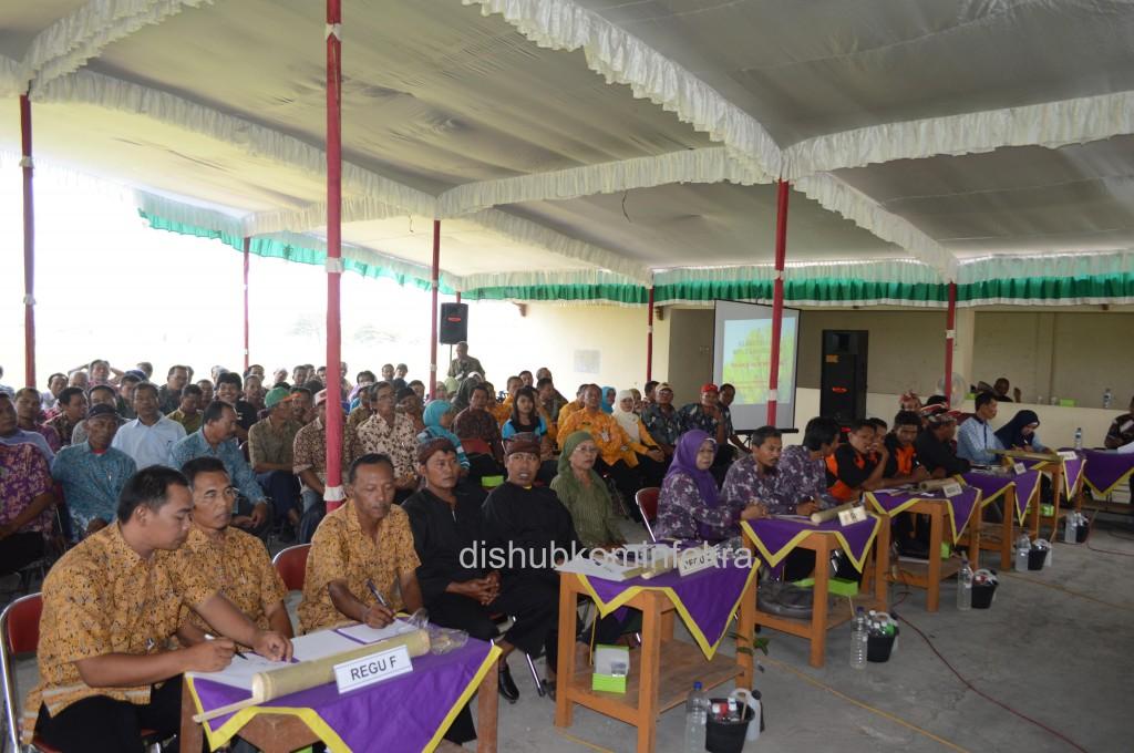 Enam kelompok maju ke babak final Asah Terampil Gapoktan, Kamis (30/10) di Balai Pertemuan Warga Perum Permai Jungke, Kecamatan Karanganyar.