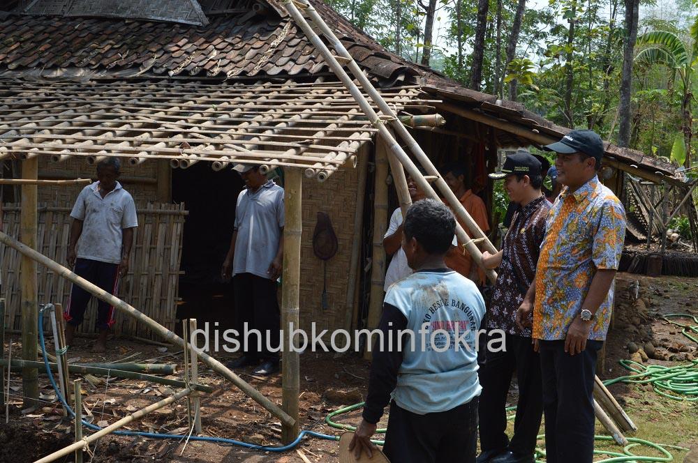 SKPD Gotong Royong Bantu Pemugaran RTLH