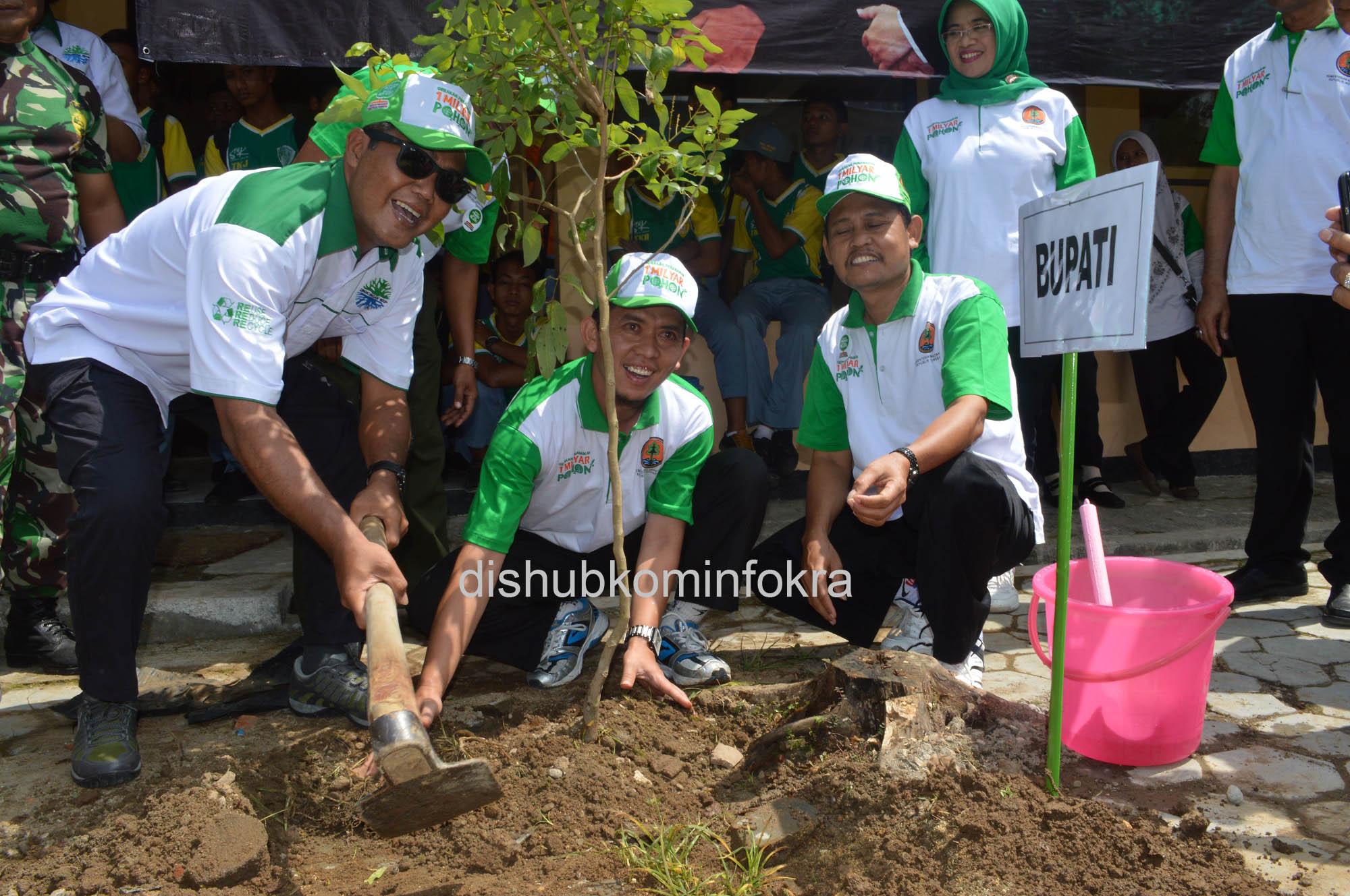 Tanam Pohon Untuk Kelestarian Alam