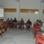 Bupati Karanganyar Juliyatmono dan Wakil Bupati Karanganyar Rohadi Widodo saat memberikan motivasi siswa menjelang ujian nasional