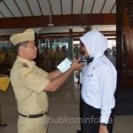 Bupati Karanganyar Juliyatmono saat melepas tanda peserta Diklat Pra Jabatan, Senin (01/06) di Pendopo Rumah Dinas Bupati Karanganyar