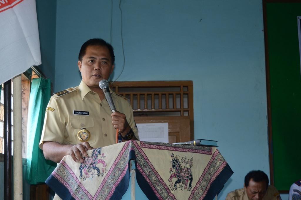 Bupati Karanganyar Hadiri Halal Bihalal PGRI Kecamatan Jatipuro