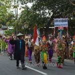 Karnaval sebagai rangkaian kegiatan HUT Kemerdekaan Republik Indonesia ke 70 tahun, di Kabupaten Karanganyar diadakan di 16 Kecamatan.