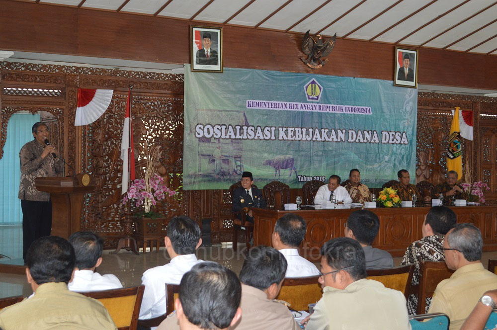 Dana Desa Untuk Sarana Prasarana dan Pengambangan Ekonomi Lokal