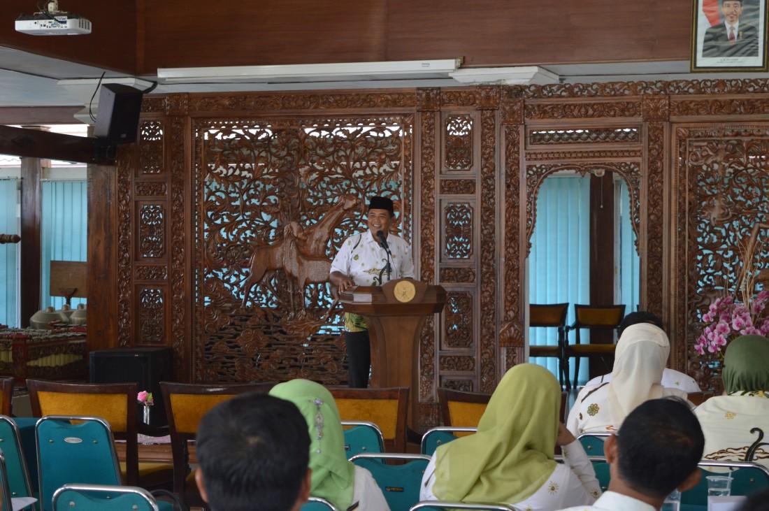 Sambutan Bupati Juliyatmono pada Sosialisasi Zakat SKPD Kab. Karanganyar, Kamis (24/03).