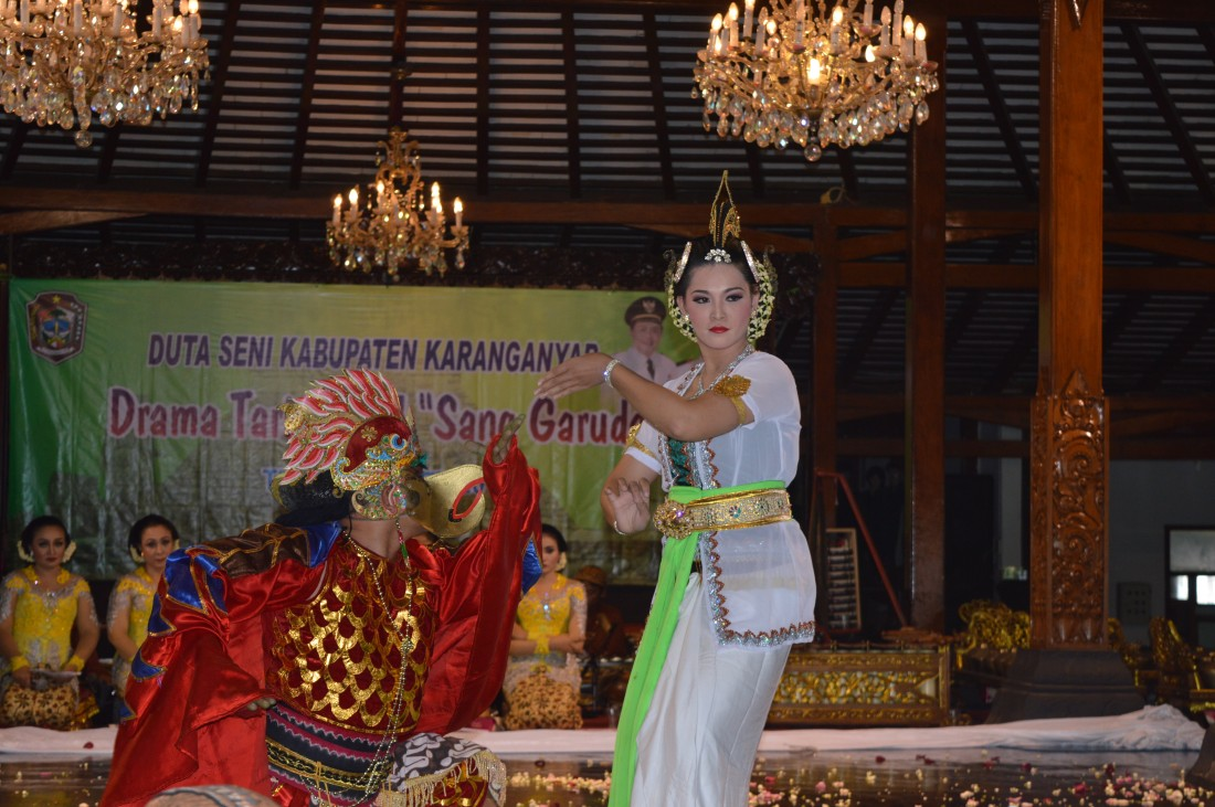 "Pentas Budaya Drama Tari Ritual ""Sang Garuda"""