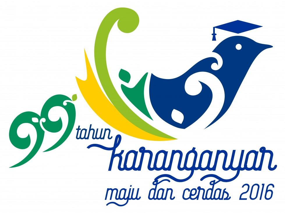 Logo Hari Jadi Pemerintah Kabupaten Karanganyar Ke 99
