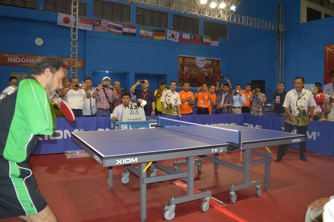 Ajang Kejuaraan Internasional Para Table Tennis 2016, Karanganyar Menjadi Pertama di Indonesia