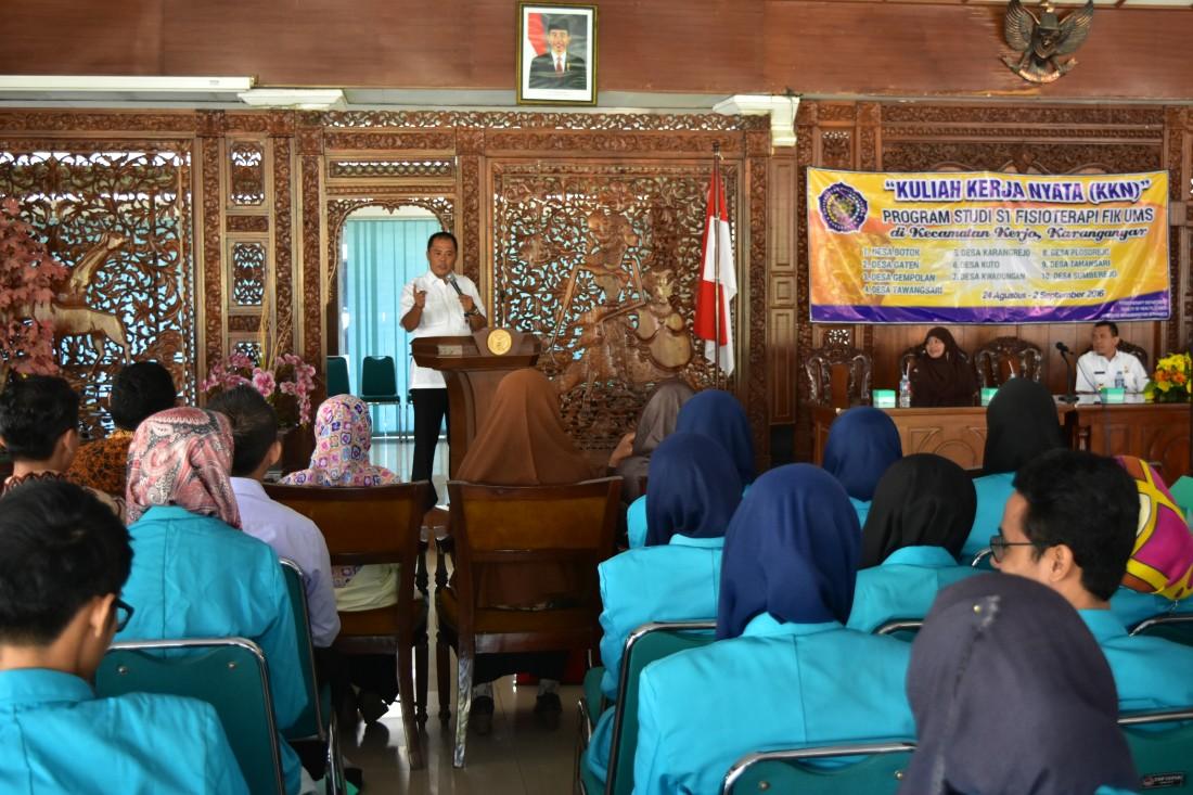 Mahasiswa UMS, KKN di Sepuluh Desa Kecamatan Kerjo