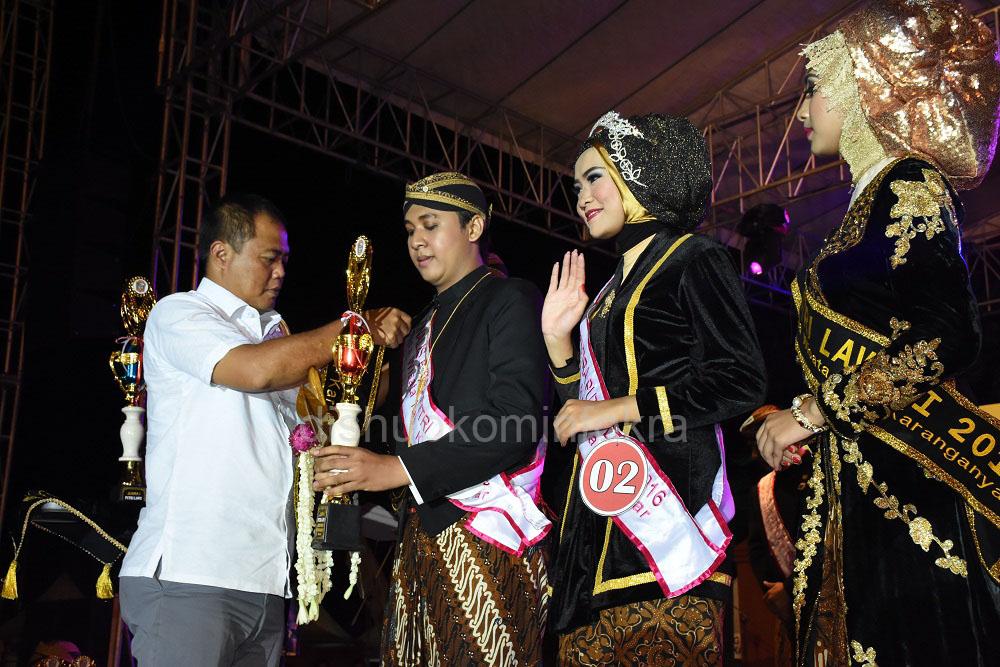 Arief dan Diaz Terpilh Putra Putri Lawu 2016
