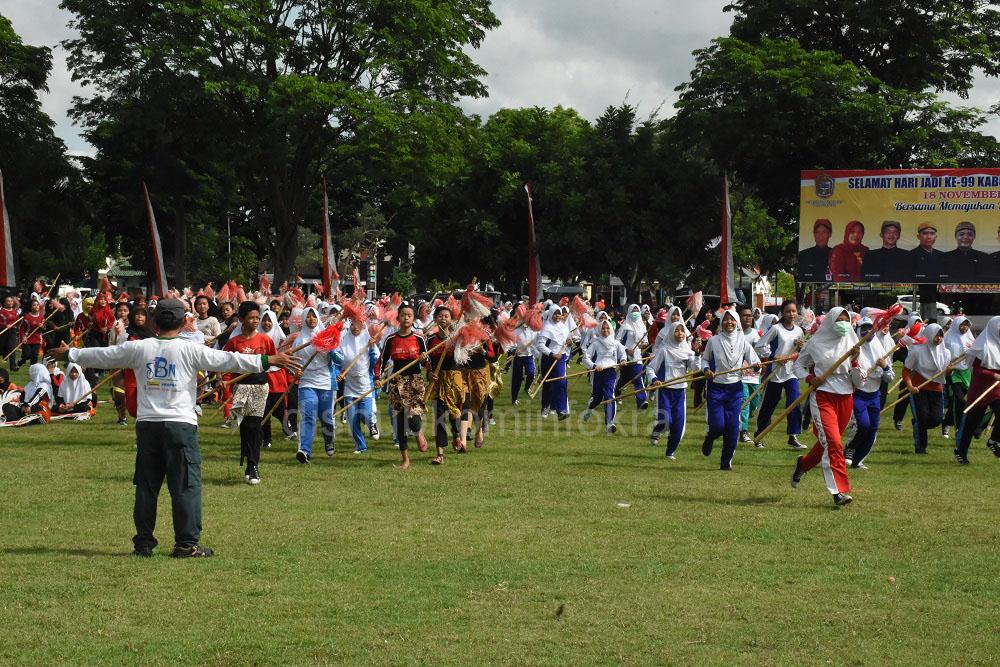 999 Penari Akan Tampil di Upacara Hari Jadi Karanganyar