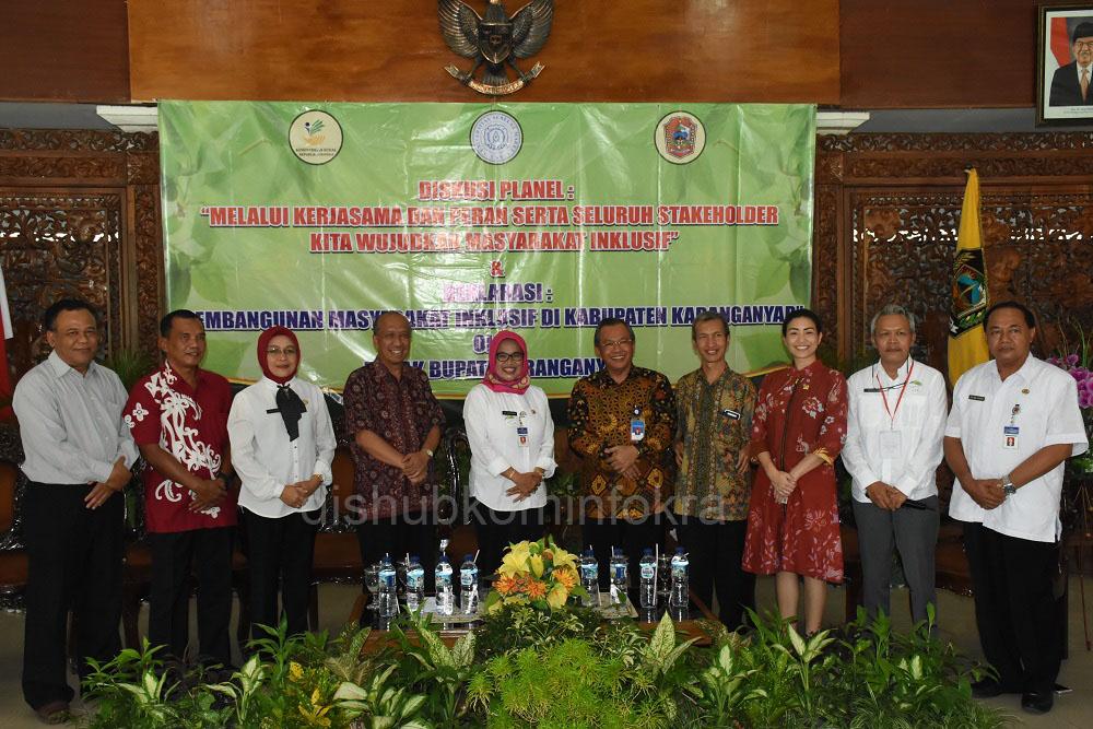 Deklarasi Pembangunan Masyarakat Inklusif Kabupaten Karanganyar