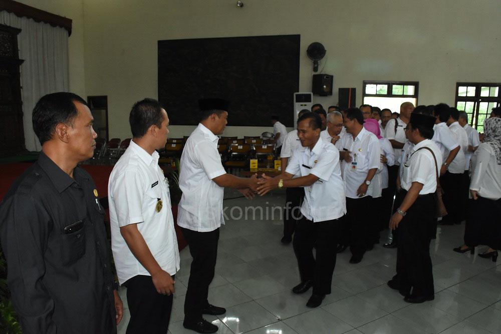 639 Pejabat Kabupaten Karanganyar Dikukuhkan dan Dilantik