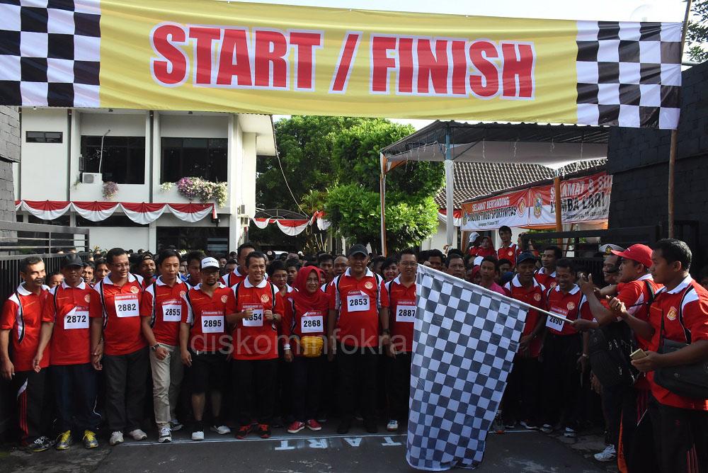 DPRD Karanganyar Adakan Lomba Lari 10 K