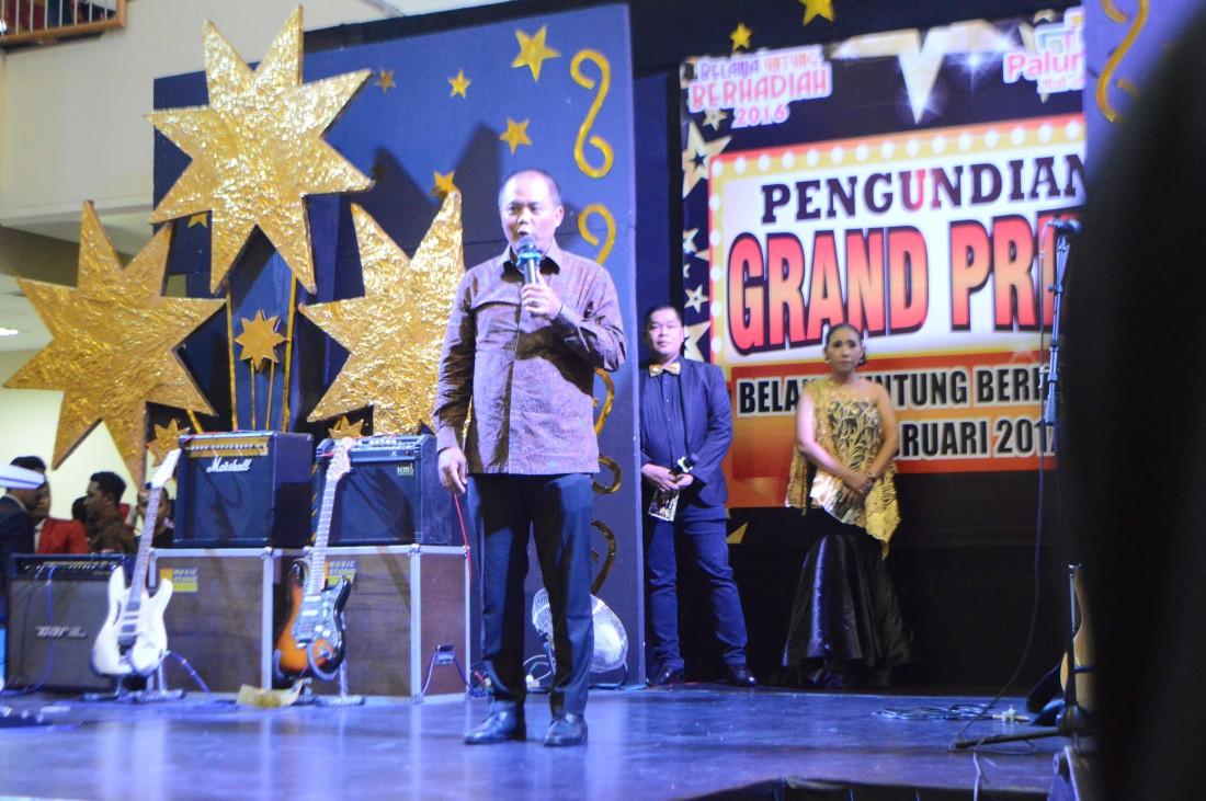 Bupati Menghadiri Pengundian Grand Prize Belanja Untung Berhadiah di Mall Palur Plasa