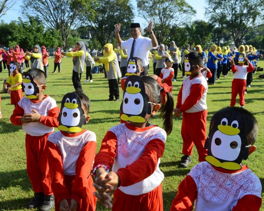 1000 Anak PAUD dan TK Ramaikan HUT IGTKI Ke-67
