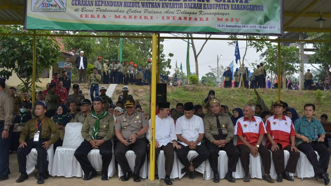Pembukaan Kemah 360 Day Ramadhan Gerakan Pandu Hizbul Wathan