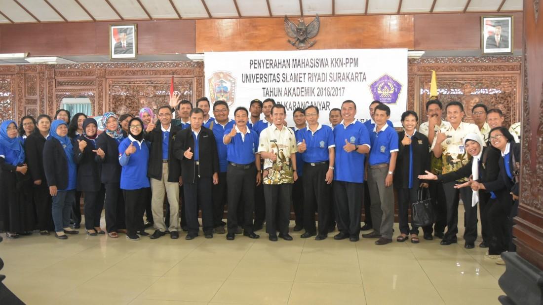 4 Kecamatan di Karanganyar Jadi Tujuan KKN Unisri