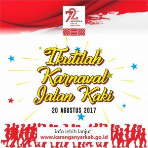 Kabupaten Karanganyar Karnaval Hut Ri Ke 72 Tahun 2017