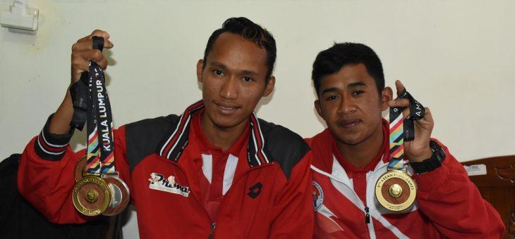Tiga Atlet NPC dari Karanganyar Sumbang Medali