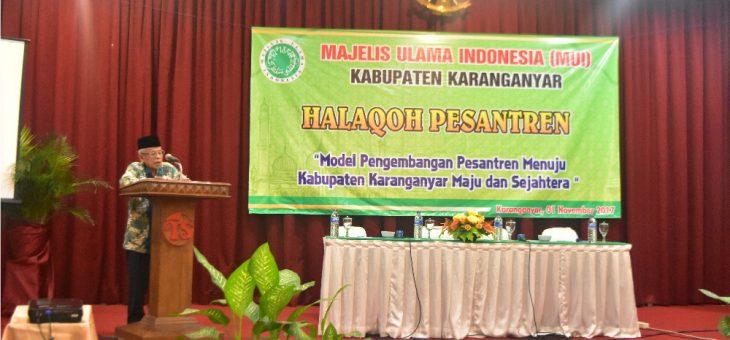 Tingkatkan Pengetahuan Iman dan Taqwa, MUI Gelar Halaqoh Pesantren