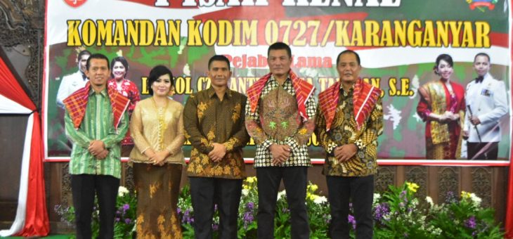 Kodim 0727 Karanganyar Miliki Dandim Baru
