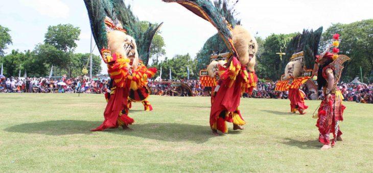 Delapan Kelompok Reog Meriahkan Festival Reog Kabupaten Karanganyar