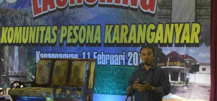LAUNCHING KOMUNITAS PESONA KARANGANYAR DAN JAMBORE PEMUDA