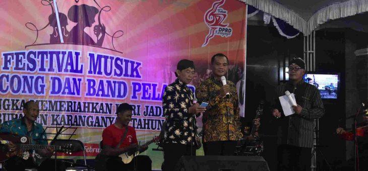 Lestariakan Musik Keroncong, DPRD Gelar Festival Keroncong Semarakan HUT DPRD Ke-67