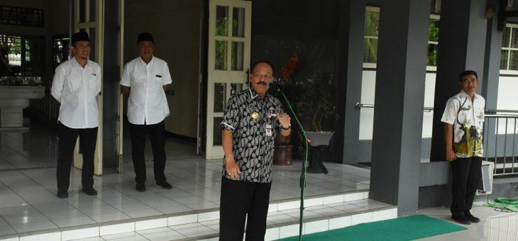 Pjs Bupati Pimpin Apel Perdana