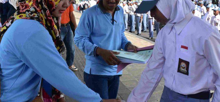 Lomba Baris Berbaris Untuk Membentuk Karakter Pemuda yang Unggul dan Tangguh