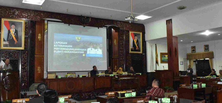 Rapat Paripurna DPRD Karanganyar