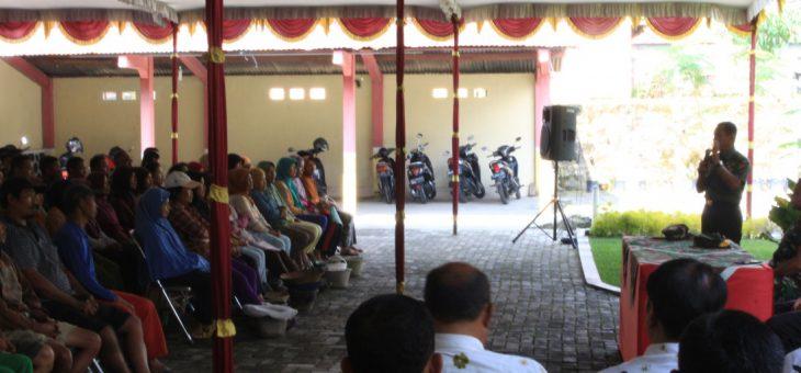Mabes TNI lakukan Cek Lokasi TMMD Di Desa Karang