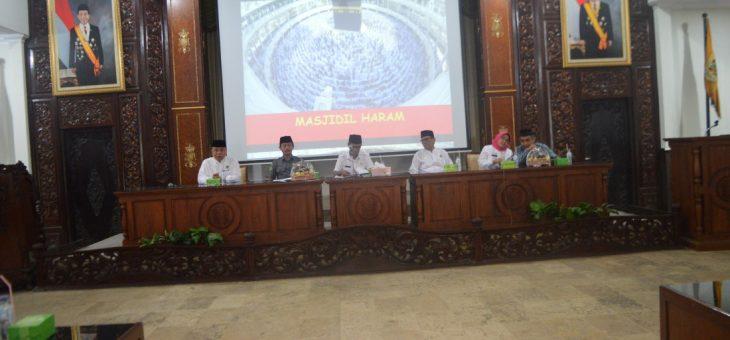 Pembukaan Manasik Haji, Sekda : Berlatih Sabar, Perbanyak Amal Sholih