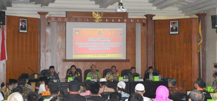 Silaturahmi Mencegah dan Menangkal Aksi Terorisme di Kabupaten Karanganyar