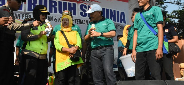 May Day Berlangsung Damai