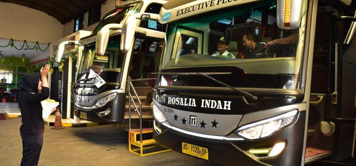 Jelang Arus Mudik, Dishub PKP Sidak Pangkalan Bus