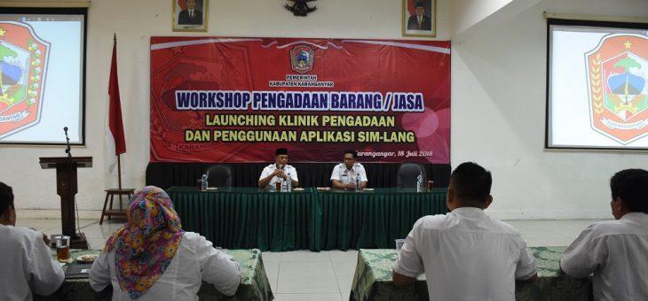 Pemkab Karanganyar Launching Aplikasi SIMLANG