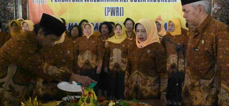 HUT Persatuan Wredatama Republik Indonesia (PWRI) Ke- 56