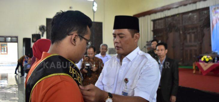 Penyerahan Mahasiswa KKN dari IAIN Surakarta