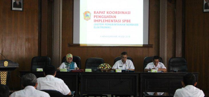 Hasil Evaluasi Implementasi Sistem Pemerintahan Berbasis Elektronik Terkelola Baik