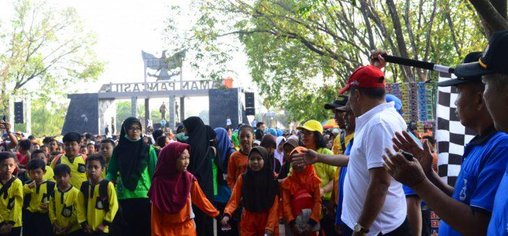 Gerak Jalan Kecamatan Karanganyar