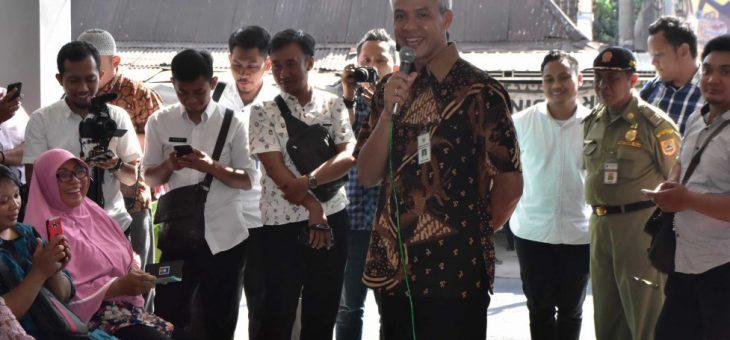 Ganjar Pranowo : Inginkan Segalanya Mudah dan Murah Bagi Masyarakat