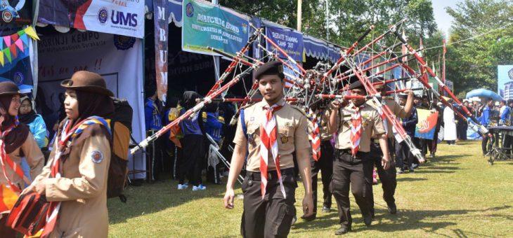 Pembukaan Expo UKM 2018 di Universitas Muhammadiyah Surakarta