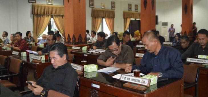 Nota Penjelasan Bupati Karanganyar Terhadap Rancangan KUPA Serta PPASP