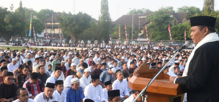 Peringatan Idul Adha Tahun 1439 H/2018 M di Kabupaten Karanganyar