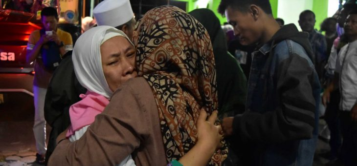 Jamaah Haji Kloter 41 Tiba Di Tanah Air